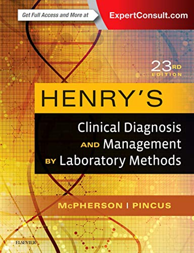 9780323295680: Henry's Clinical Diagnosis and Management by Laboratory Methods, 23e