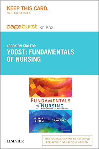 9780323296885: Fundamentals of Nursing - Elsevier eBook on Intel Education Study (Retail Access Card): Active Learning for Collaborative Practice, 1e