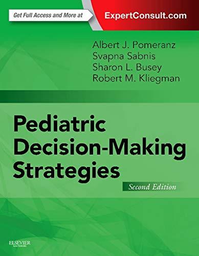 9780323298544: Pediatric Decision-Making Strategies, 2e