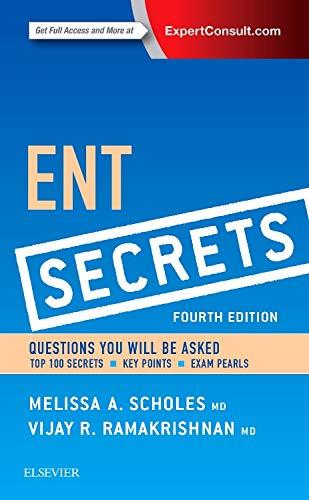 9780323298568: ENT Secrets, 4e