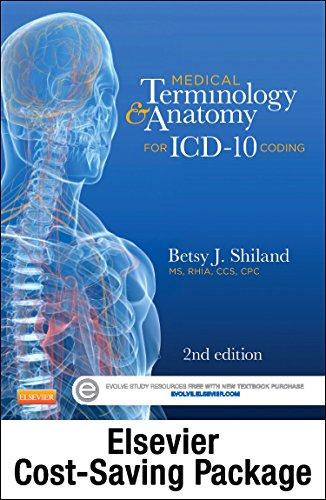 9780323298575: Medical Terminology Online for Medical Terminology & Anatomy for ICD-10 Coding (Access Code and Textbook Package), 2e