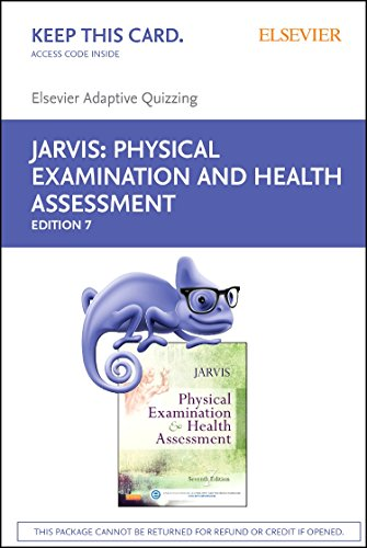 9780323310581: Elsevier Adaptive Quizzing for Jarvis Physical Examination and Health Assessment (Retail Access Card), 7e