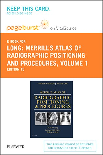 9780323311984: Merrill's Atlas of Radiographic Positioning and Procedures - Elsevier eBook on VitalSource (Retail Access Card): Volume 1, 13e