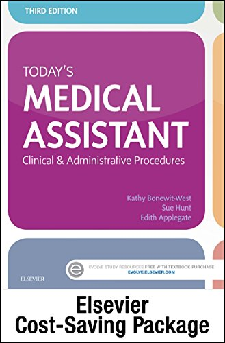 9780323312073: Today's Medical Assistant - Text and Study Guide Package: Clinical and Administrative Procedures, 3e