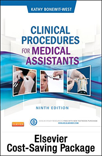 9780323316231: Clinical Procedures for Medical Assistants - Text, Study Guide, and Virtual Medical Office (Access Code) Package, 9e