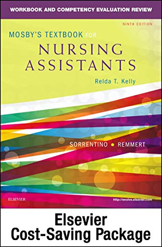 9780323319775: Mosby's Textbook for Nursing Assistants - Textbook and Workbook Package, 9e