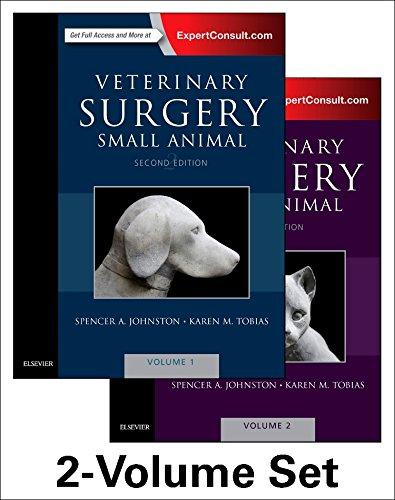 Veterinary Surgery: Small Animal Expert Consult: 2-Volume: Johnston VMD DACVS,