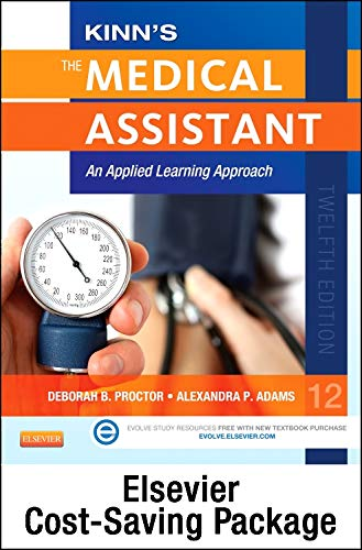 9780323321204: Kinn's the Medical Assistant - Text, Study Guide, Procedure Checklist Manual, and Adaptive Learning Package with ICD-10 Supplement