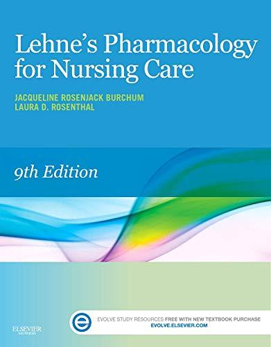 9780323321907: Lehne's Pharmacology for Nursing Care, 9e