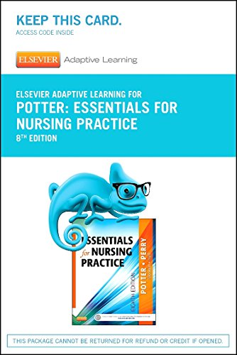 Elsevier Adaptive Learning for Essentials for Nursing Practice (Acces Code), 8e: Potter RN MSN PhD ...