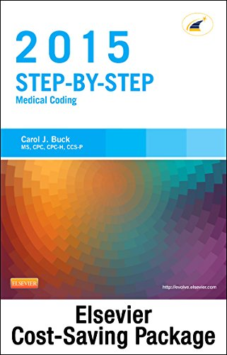 9780323327244: Medical Coding Online for Step-by-Step Medical Coding 2015 Edition (Access Code & Textbook Package), 1e