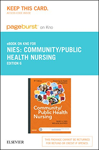 9780323327596: Community/Public Health Nursing - Elsevier eBook on Intel Education Study (Retail Access Card): Promoting the Health of Populations, 6e
