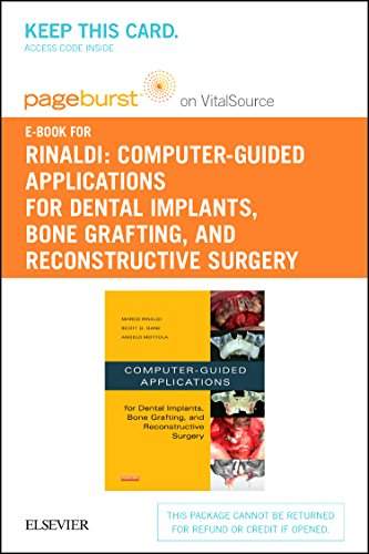 9780323339605: Computer-Guided Applications for Dental Implants, Bone Grafting, and Reconstructive Surgery (adapted translation) - Elsevier eBook on VitalSource (Retail Access Card)
