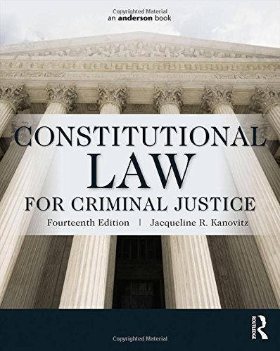 9780323340489: Constitutional Law for Criminal Justice
