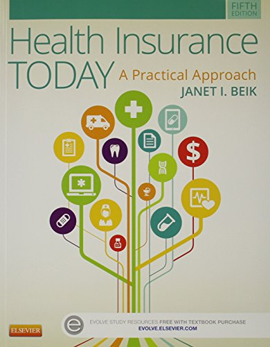 9780323341677: Health Insurance Today - Text, Workbook and Virtual Medical Office Package, 5e