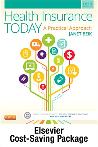 9780323341684: Medical Insurance Online for Health Insurance Today (Access Code, Textbook and Workbook Package), 5e