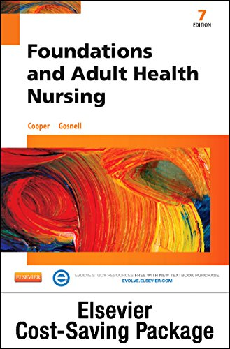 9780323352611: Foundations and Adult Health Nursing - Text and Elsevier Adaptive Learning and Elsevier Adaptive Quizzing (Retail Access Cards) Package, 7e