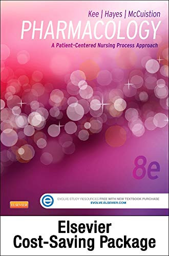 9780323352871: Pharmacology - Text and Elsevier Adaptive Quizzing Package: A Patient-Centered Nursing Process Approach, 8e