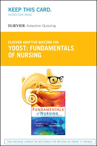 9780323353007: Yoost - Elsevier Adaptive Quizzing for Yoost Fundamentals of Nursing (Retail Access Card): Active Learning for Collaborative Practice, 1e