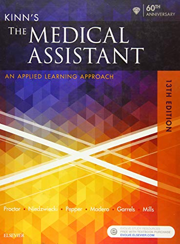 9780323353205: Kinn's The Medical Assistant: An Applied Learning Approach