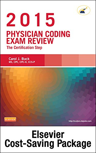 9780323353335: Physician Coding Exam Review 2015 - Elsevier eBook on Intel Education Study + Evolve Access (Retail Access Cards): The Certification Step, 1e