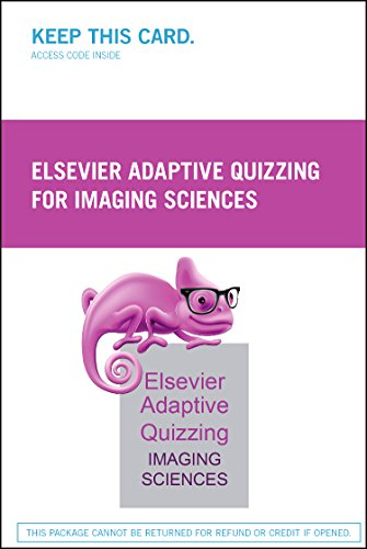 9780323353427: Elsevier Adaptive Quizzing for Imaging Sciences (Retail Access Card)