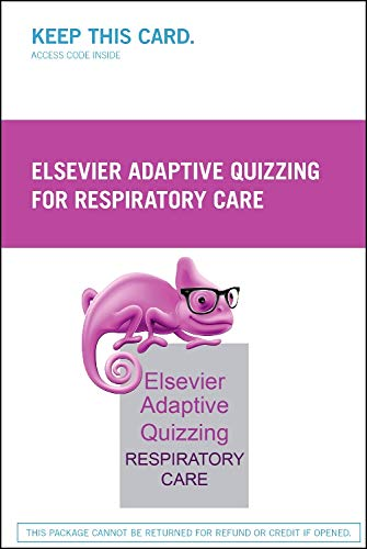 Elsevier Adaptive Quizzing for Respiratory Care Retail Access Card