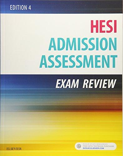 9780323353786: Admission Assessment Exam Review, 4e