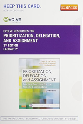 9780323355131: Prioritization, Delegation, and Assignment Elsevier