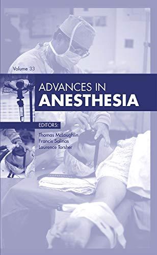 9780323356053: Advances in Anesthesia, 1e