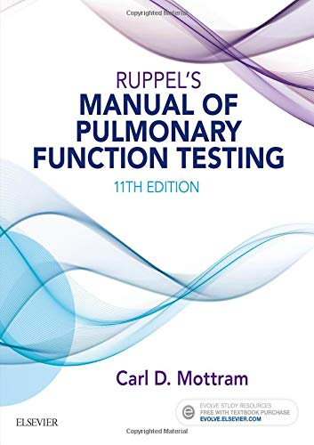 9780323356251: Ruppel's Manual of Pulmonary Function Testing, 11e