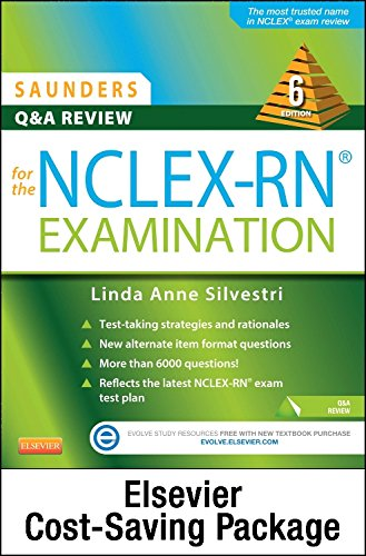 9780323356336: Saunders Q & A Review for the NCLEX-RN Examination - Elsevier eBook on VitalSource + Evolve Access (Retail Access Cards)