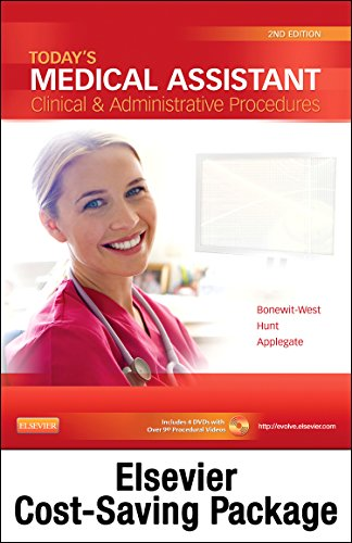 9780323357203: Today's Medical Assistant - Text and Elsevier Adaptive Learning (Access Card) and Elsevier Adaptive Quizzing (Access Card) Package, 2e