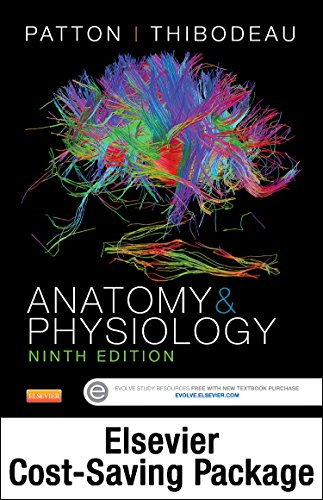 9780323357333: Anatomy and Physiology - Text and Elsevier Adaptive Learning and Quizzing Package, 9e