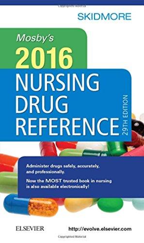 9780323370240: Mosby's 2016 Nursing Drug Reference, 29e (SKIDMORE NURSING DRUG REFERENCE)