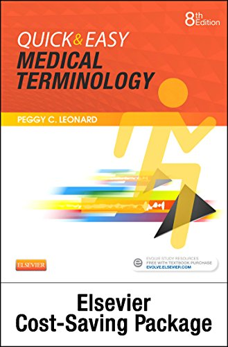 9780323370806: Medical Terminology Online with Elsevier Adaptive Learning for Quick & Easy Medical Terminology (Access Code and Textbook Package), 8e