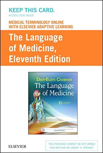 Medical Terminology Online with Elsevier Adaptive Learning: Davi-Ellen Chabner