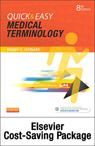 9780323370981: Quick & Easy Medical Terminology - Text and Elsevier Adaptive Learning Package, 8e