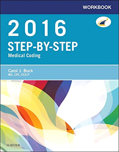 9780323389211: Workbook for Step-by-Step Medical Coding, 2016 Edition, 1e