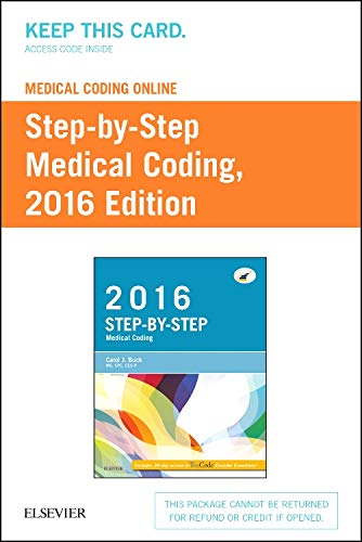 9780323389228: Medical Coding Online for Step-by-Step Medical Coding, 2016 Edition (Access Card), 1e