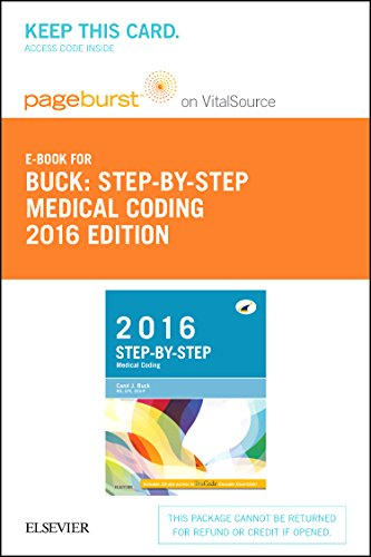 9780323389259: Step-by-Step Medical Coding, 2016 Edition - Elsevier eBook on VitalSource (Retail Access Card), 1e