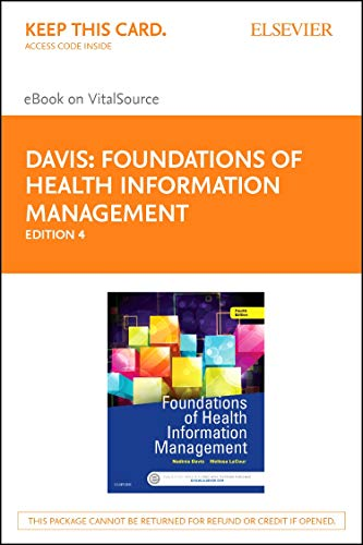 9780323389723: Foundations of Health Information Management - Elsevier eBook on VitalSource (Retail Access Card), 4e