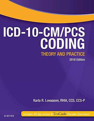 9780323389938: ICD-10-CM/PCS Coding: Theory and Practice, 2016 Edition, 1e