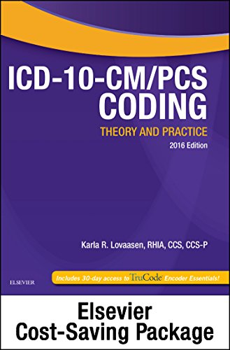 9780323390002: ICD-10-CM/PCS Coding: Theory and Practice, 2016 Edition - Text and Workbook Package, 1e