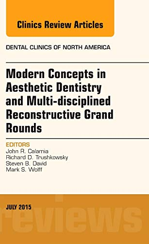9780323390941: Modern Concepts in Aesthetic Dentistry and Multi-disciplined Reconstructive Grand Rounds, An Issue of Dental Clinics of North America, 1e (The Clinics: Dentistry)