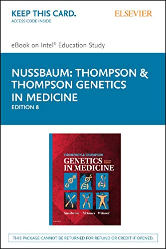 Thompson & Thompson Genetics in Medicine - Pageburst E-book on Kno Retail Access Card: Nussbaum...