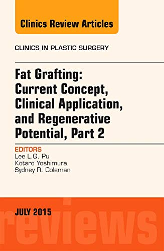 9780323392709: Fat Grafting: Current Concept, Clinical Application, and Regenerative Potential,  PART 2, An Issue of Clinics in Plastic Surgery, 1e