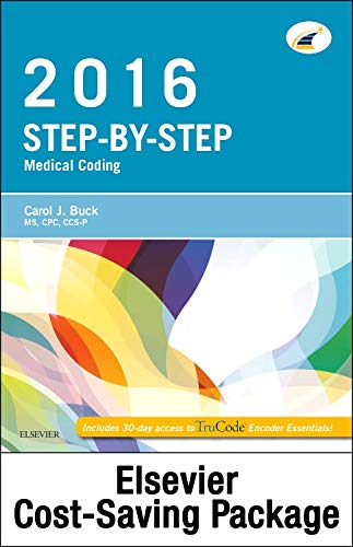 9780323393812: Medical Coding Online for Step-by-Step Medical Coding 2016 Edition (Access Code, Textbook and Workbook Package), 1e