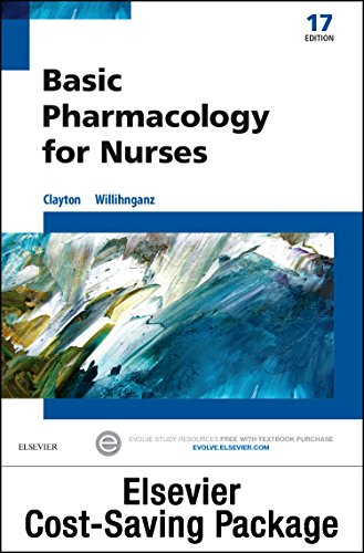 9780323396127: Basic Pharmacology for Nurses - Text & Study Guide Package, 17e
