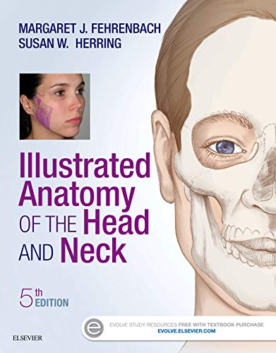 9780323396349: Illustrated Anatomy of the Head and Neck, 5e